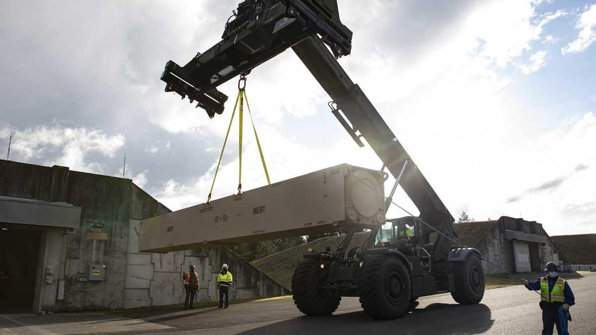 Армия США элемент гиперзвуковое оружие два