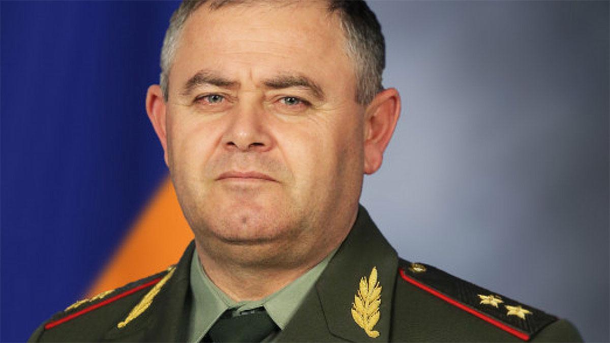 Артак Давтян генерал-лейтенант Армения