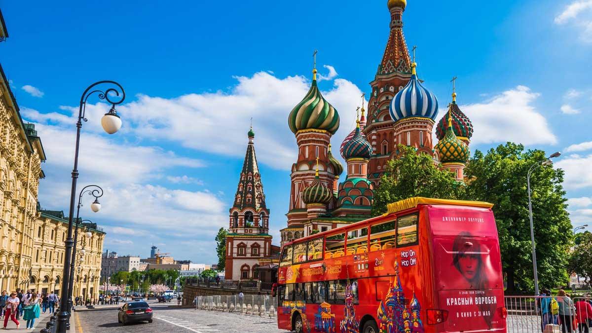 Автобус туры по России Москва