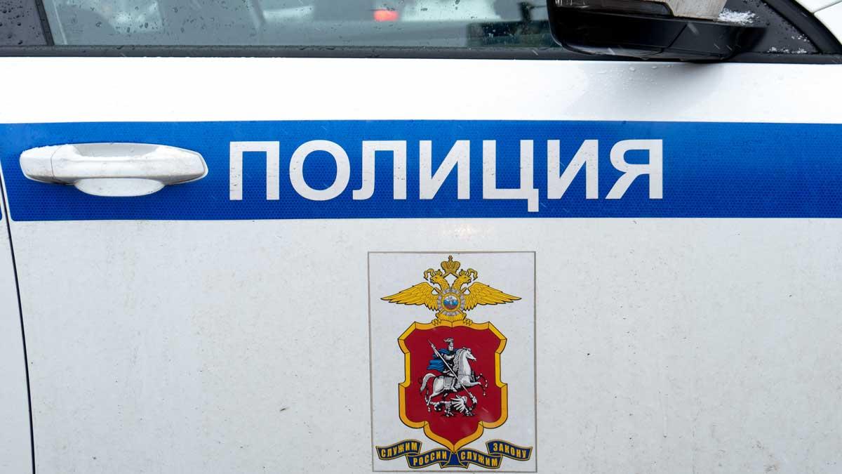 Автомобиль полиция Россия два