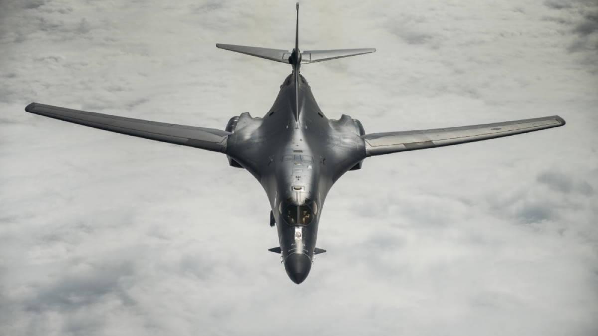 Бомбардировщик B-1B Lancer