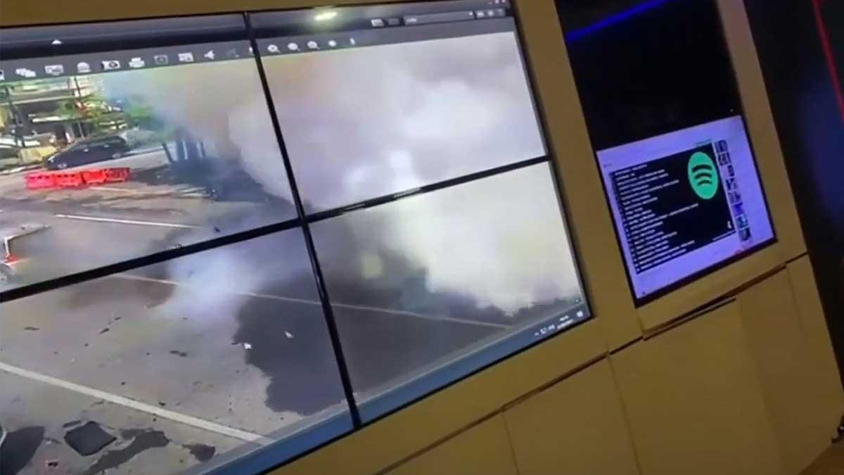 Бомба террориста-смертника взорвалась в соборе Святого Сердца Иисуса