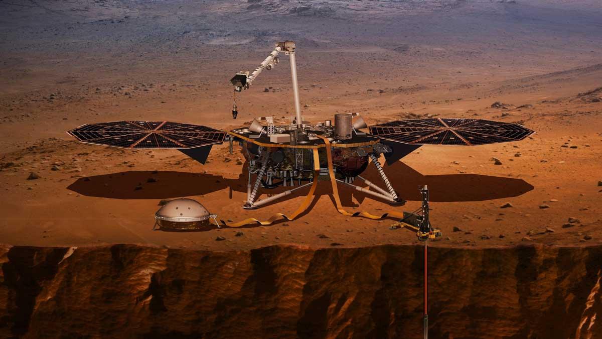 Данные Insight показывают размер ядра Марса