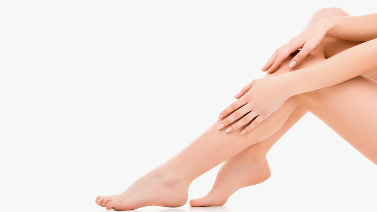 Женские ноги уход