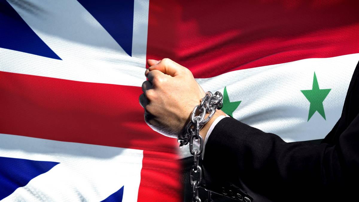 Великобритания Сирия санкции