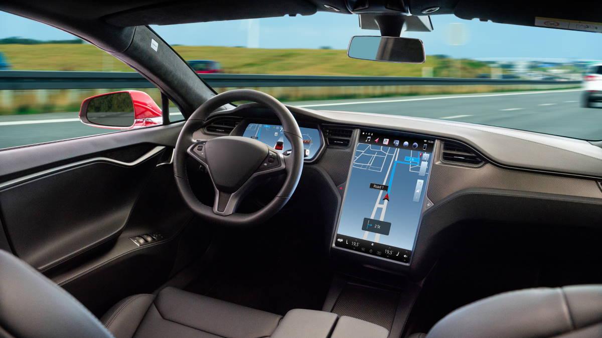 Беспилотный автомобиль автопилот без водителя
