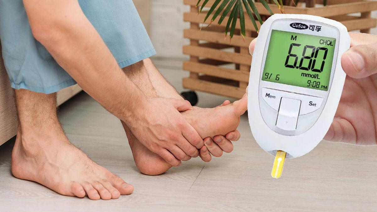 боль в ногах и повышенный сахар глюкометр диабет
