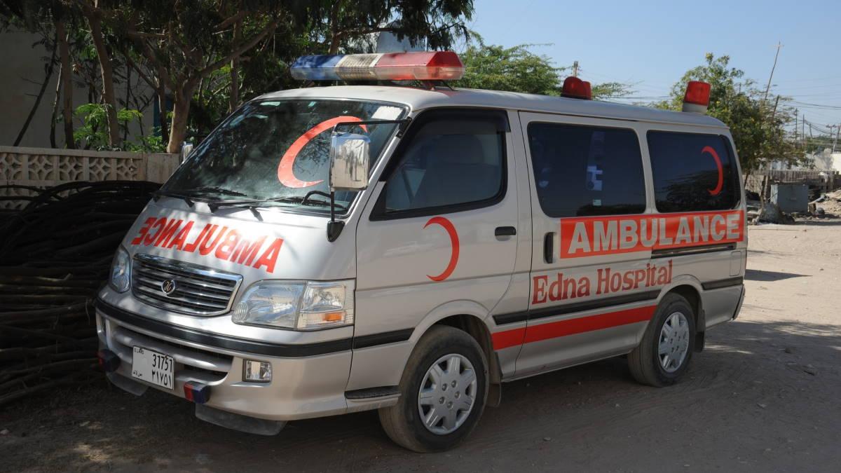Сомали скорая помощь