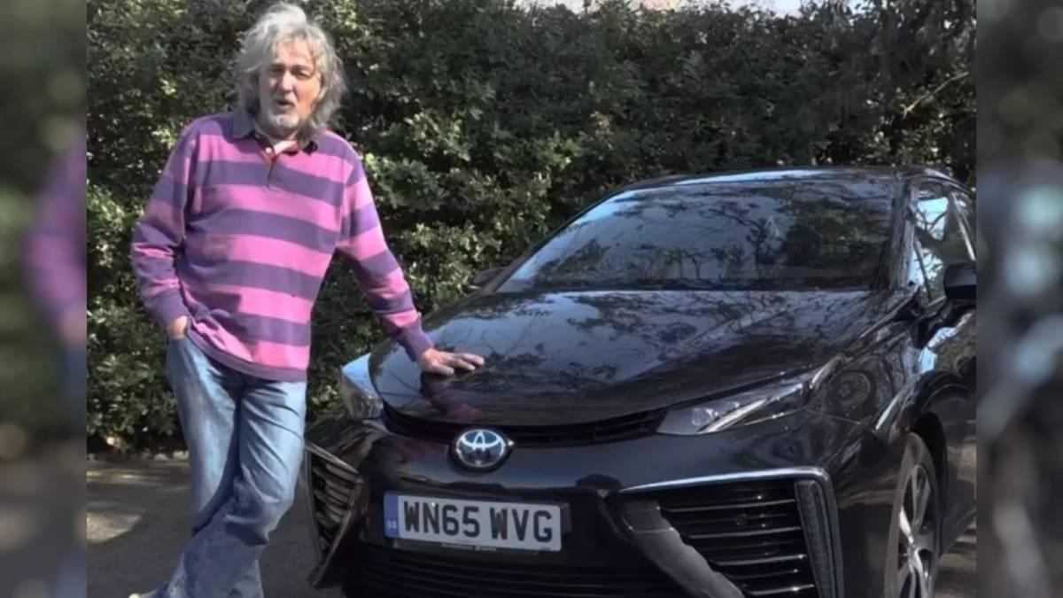 Джеймс Мэй и его Toyota Mirai