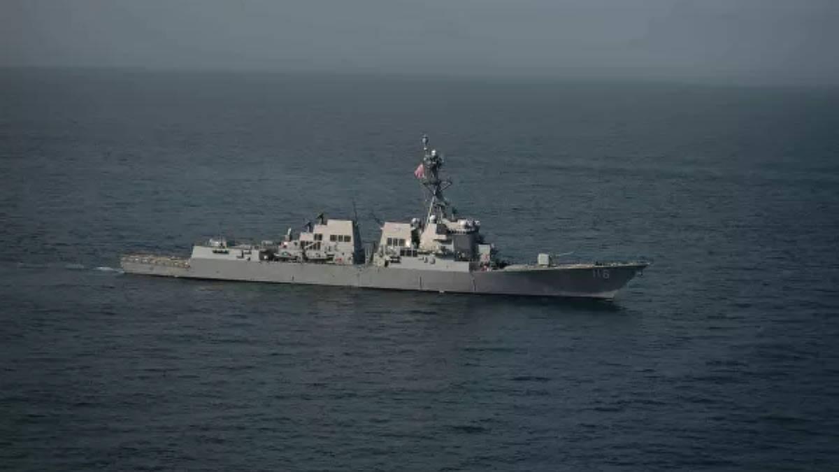 Эсминец ВМС США Thomas Hudner