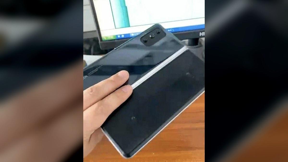 шпионский снимок нового смартфона Foldable Xiaomi Mi Mix