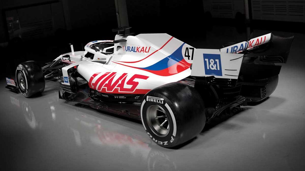 Формула-1 болид нового сезона