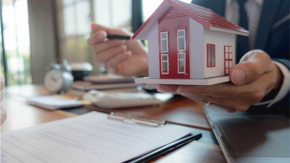 Ипотека дом ручка мужчина офис