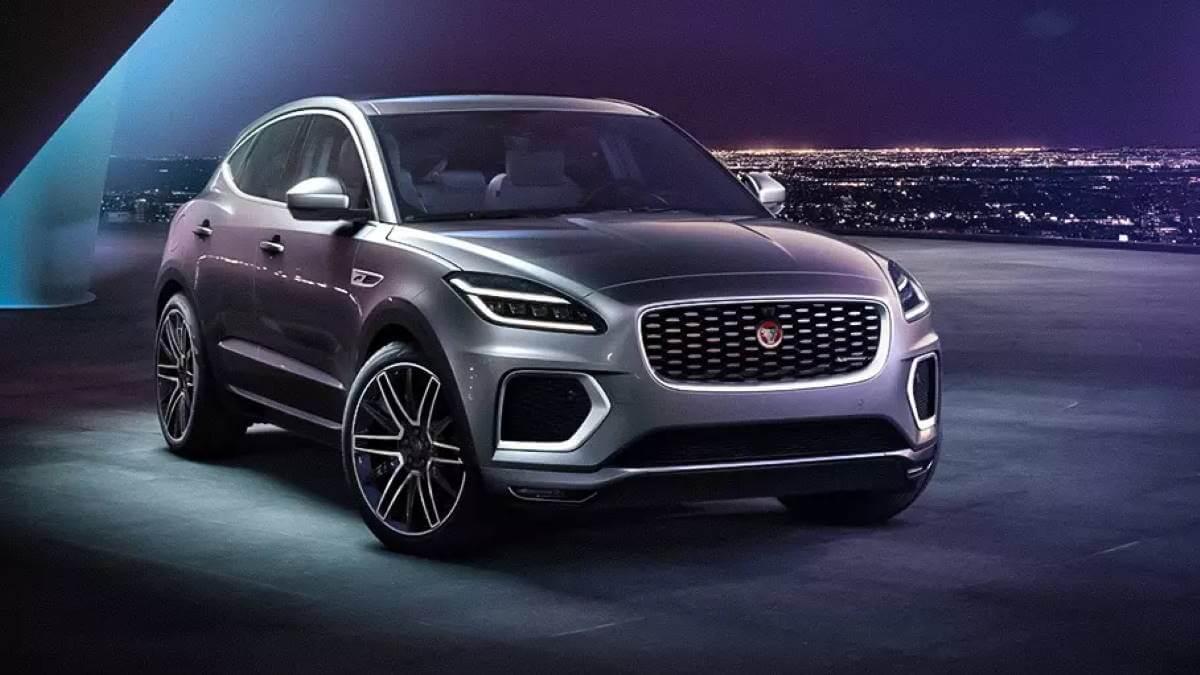 Обновлённый Jaguar E-Pace