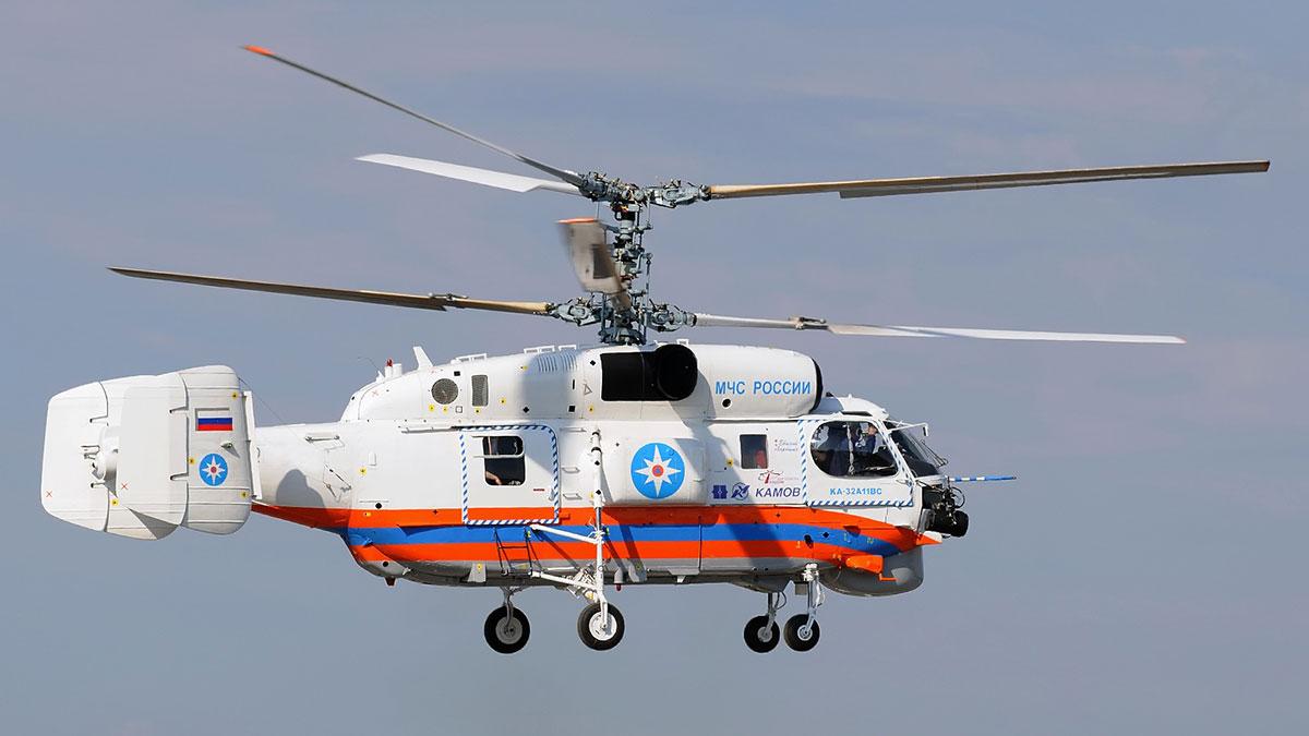 КА-32 МЧС россии вертолет