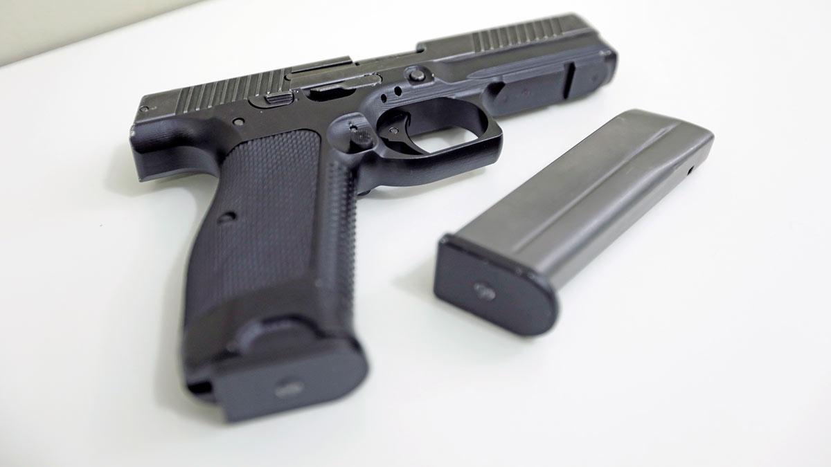 модульный пистолет Лебедева (МПЛ)