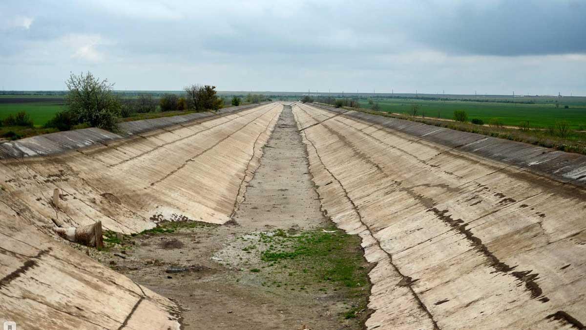 Крым Северо Крымский канал
