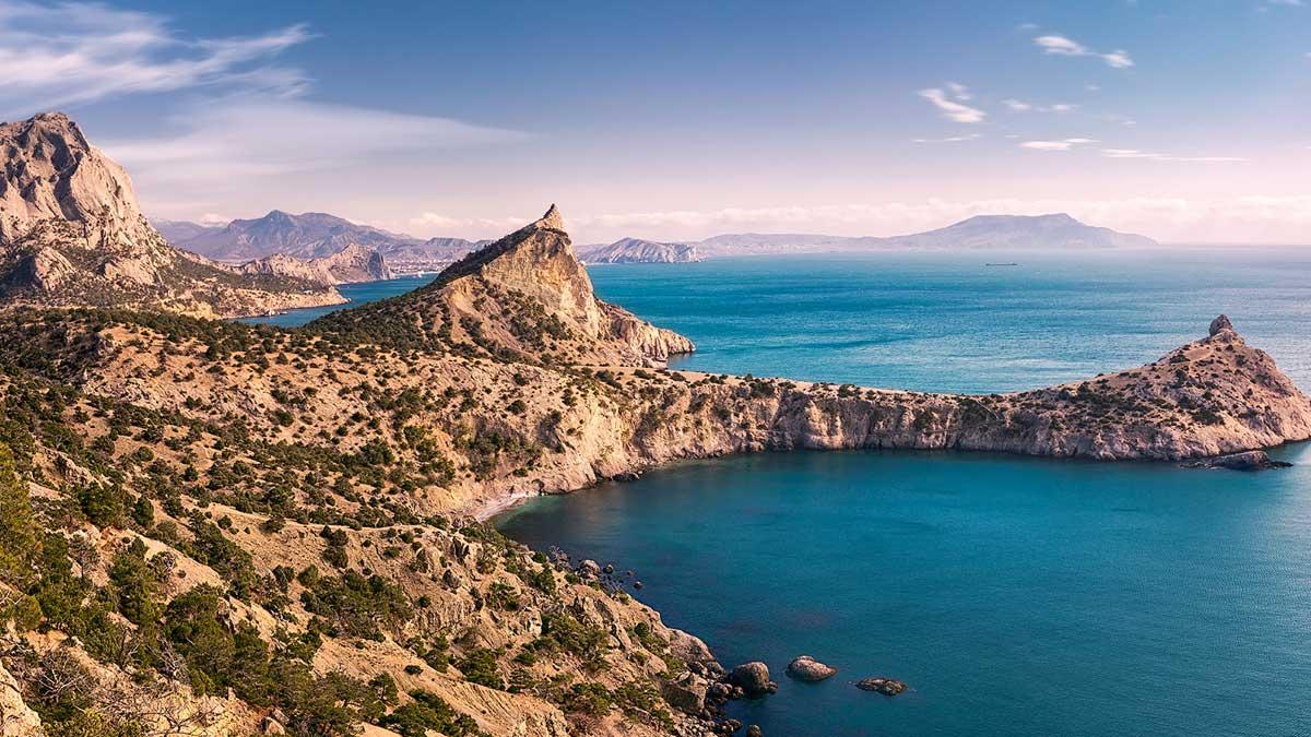 Крым горы море