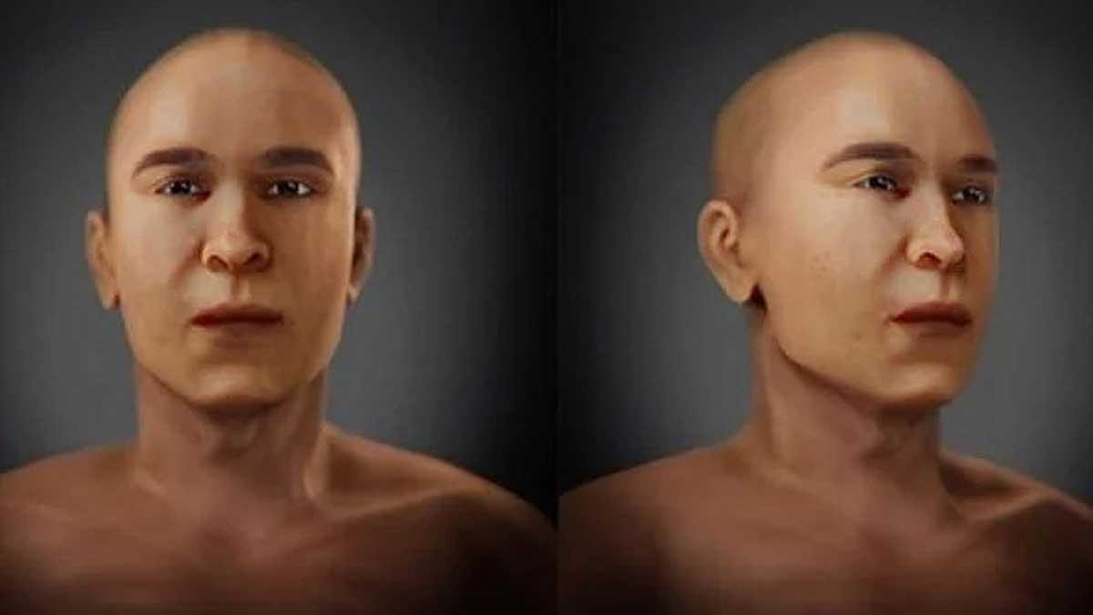 Лицо Тутанхамона