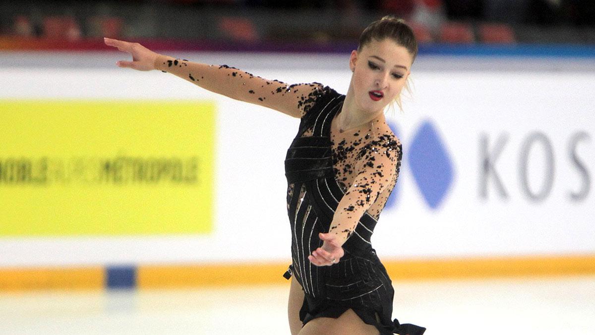 Мария Сотскова российская фигуристка выступавшая в одиночном катании