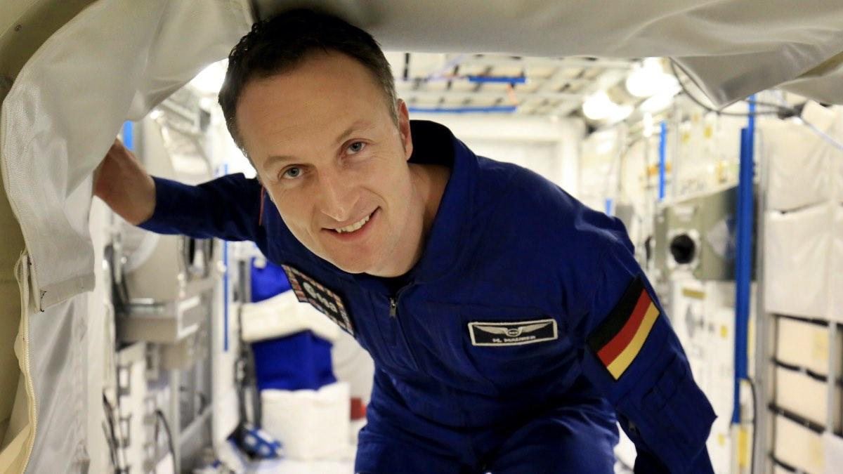 Немецкий астронавт Матиас Маурер