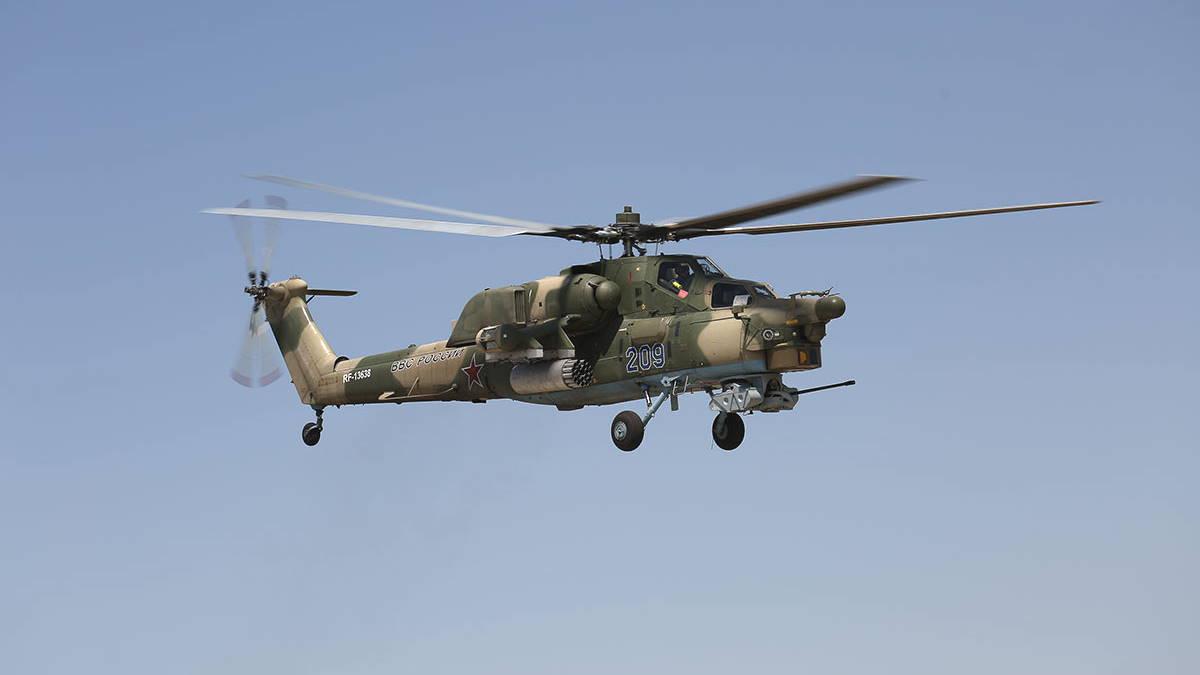 Ударный вертолёт Ми-28Н - Ночной охотник