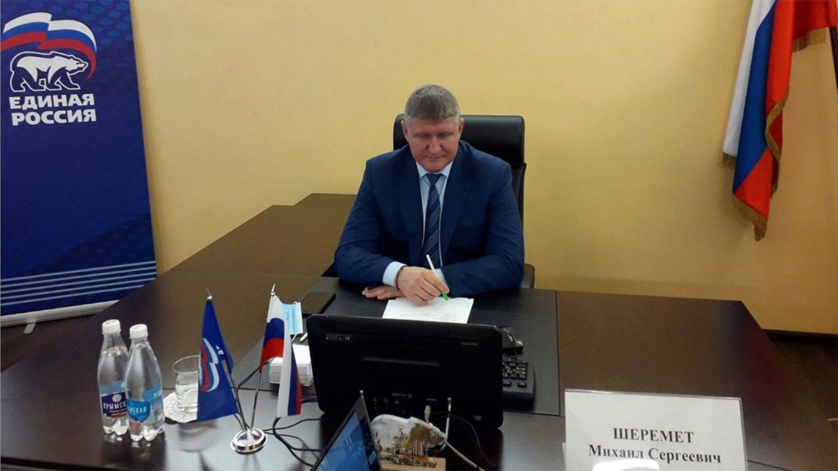 депутат Госдумы РФ от крымского региона Михаил Шеремет