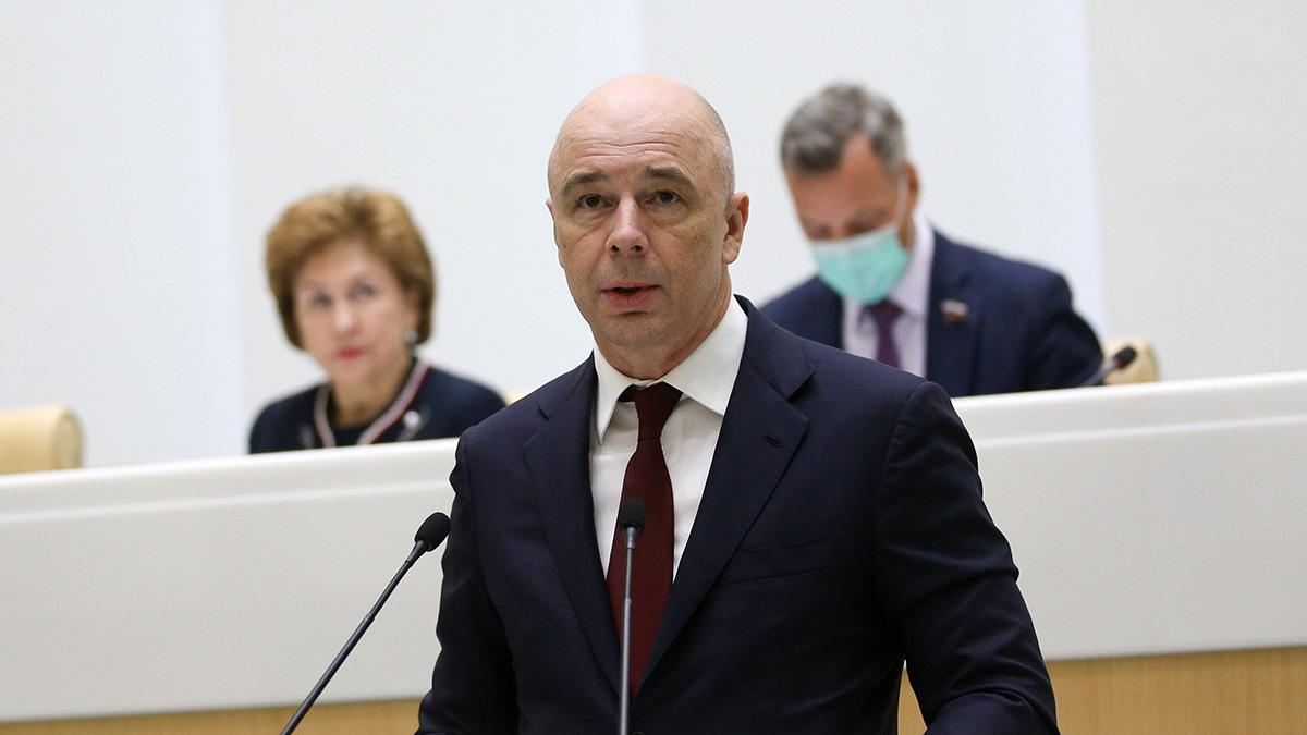 Министр финансов РФ Антон Силуанов во время заседания Совета Федерации