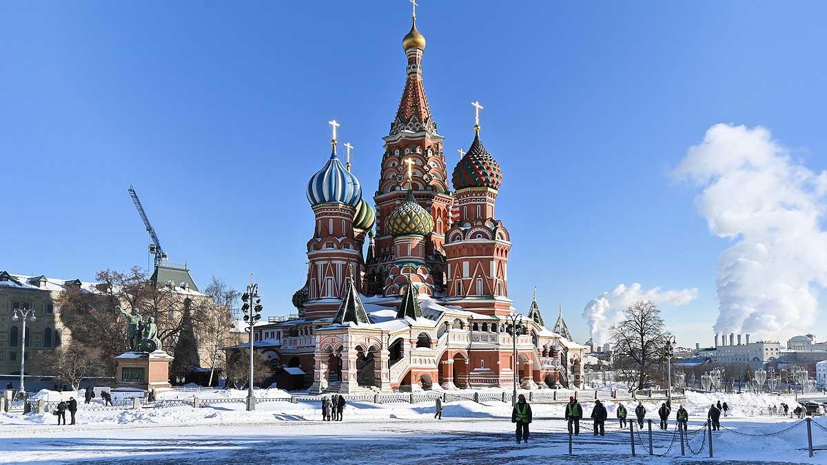 Мороз снег солнце Москва