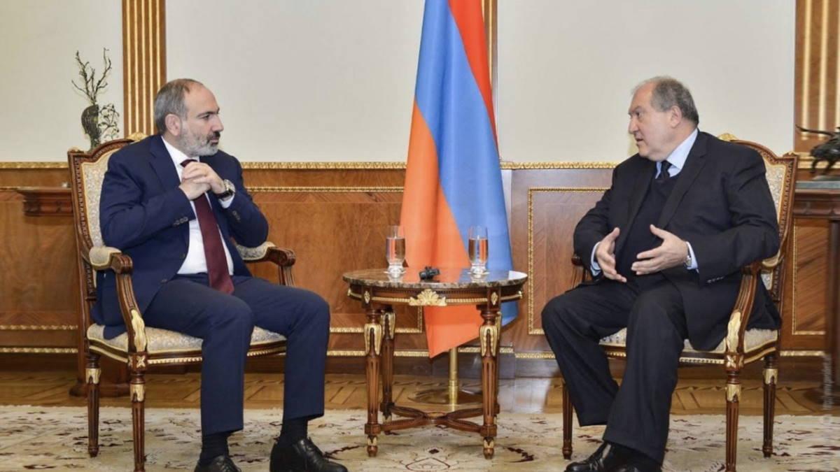 Никол Пашинян и Армен Саркисян