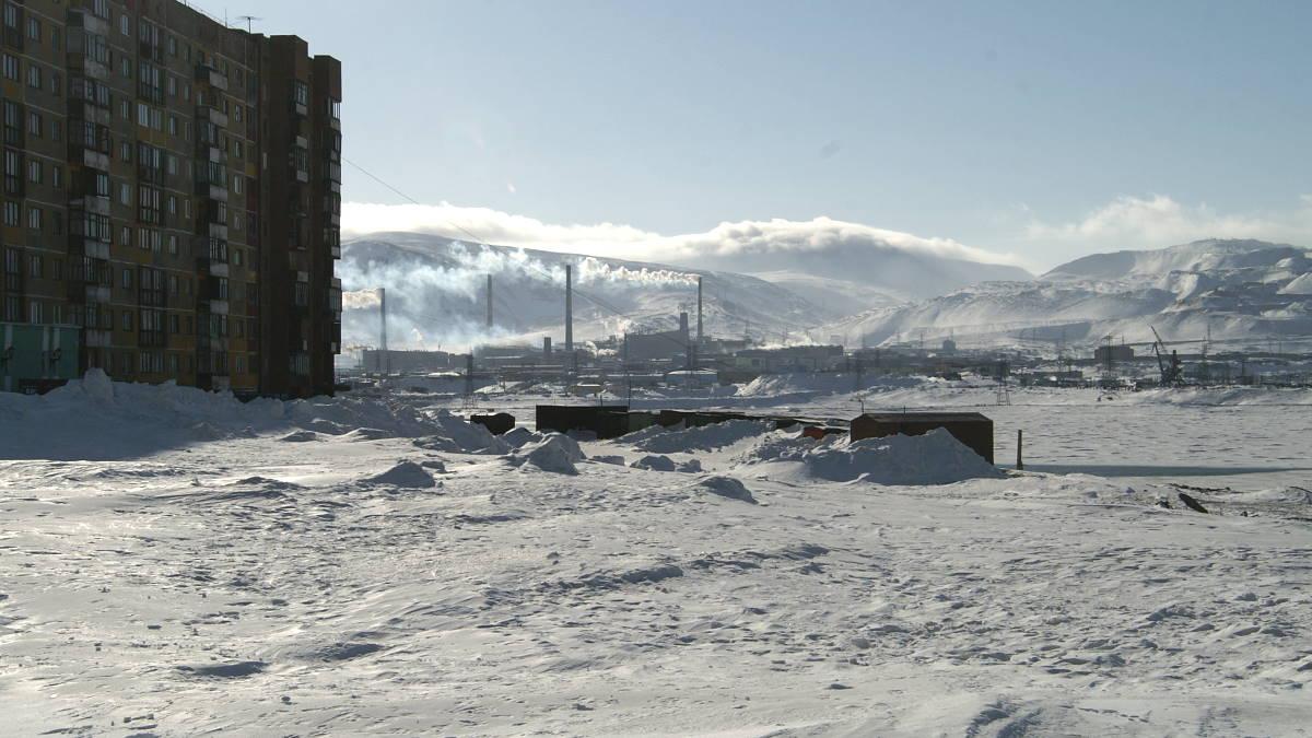 Норильск загрязнение