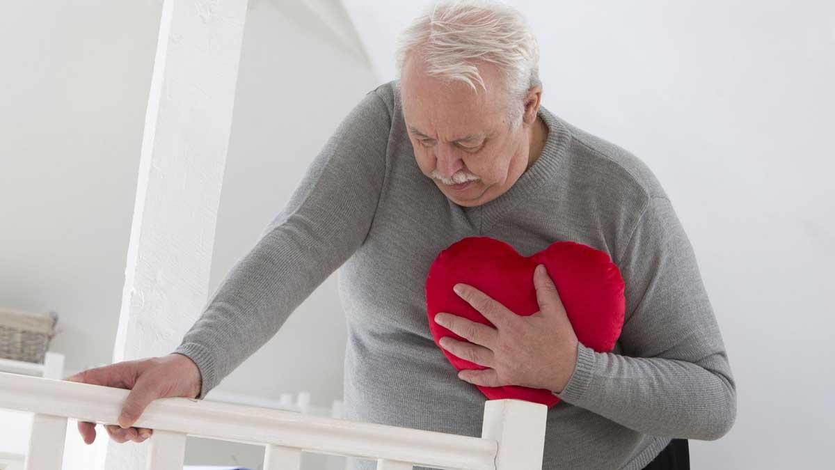 Одышка мужчина сердце