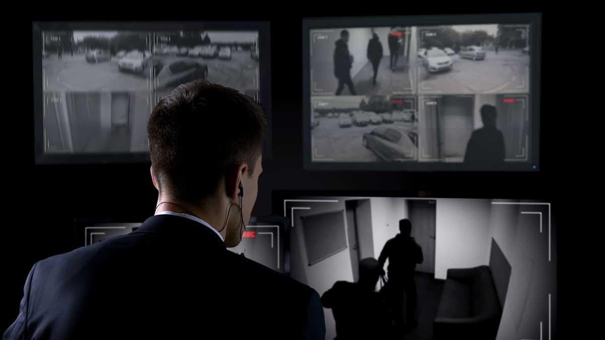 Ограбление банки камеры