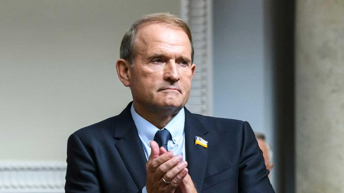 Председатель политического совета партии ОПЗЖ Виктор Медведчук