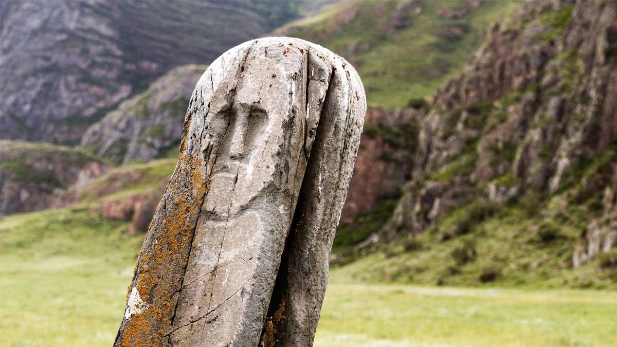 Scythian stone carving Скифская резьба по камню