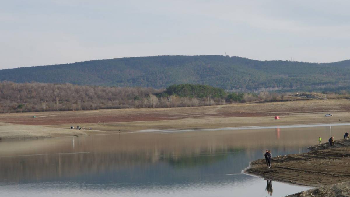 Симферопольское водохранилище в Крыму