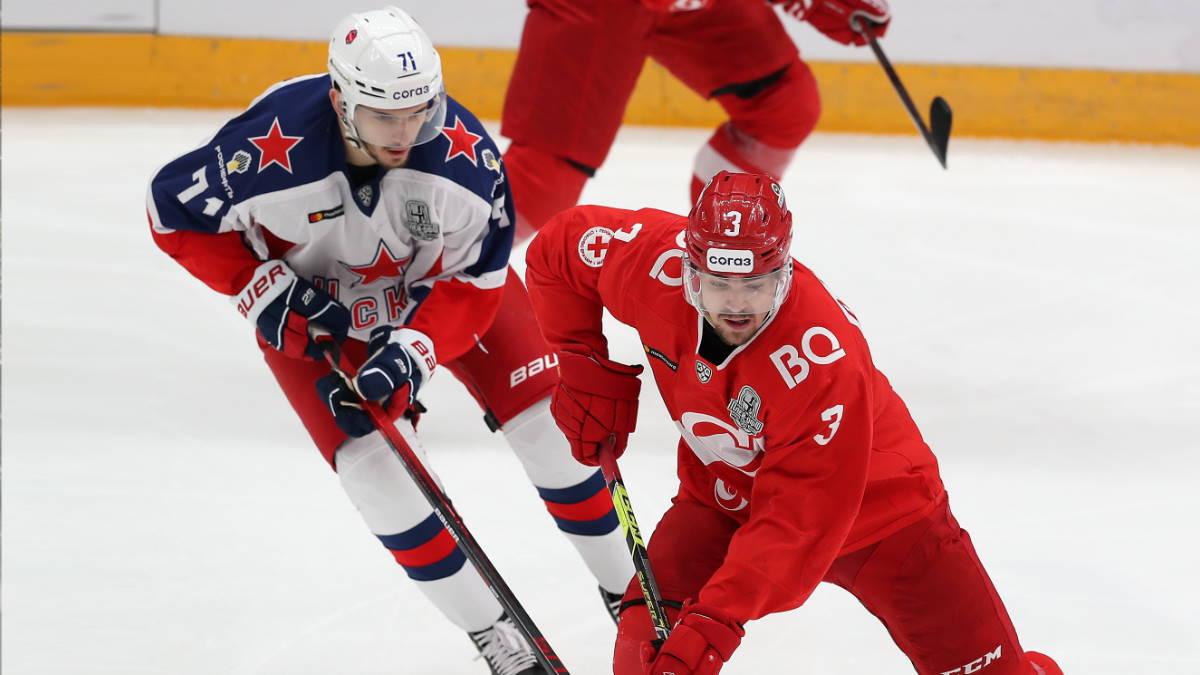 Спартак - ЦСКА хоккей