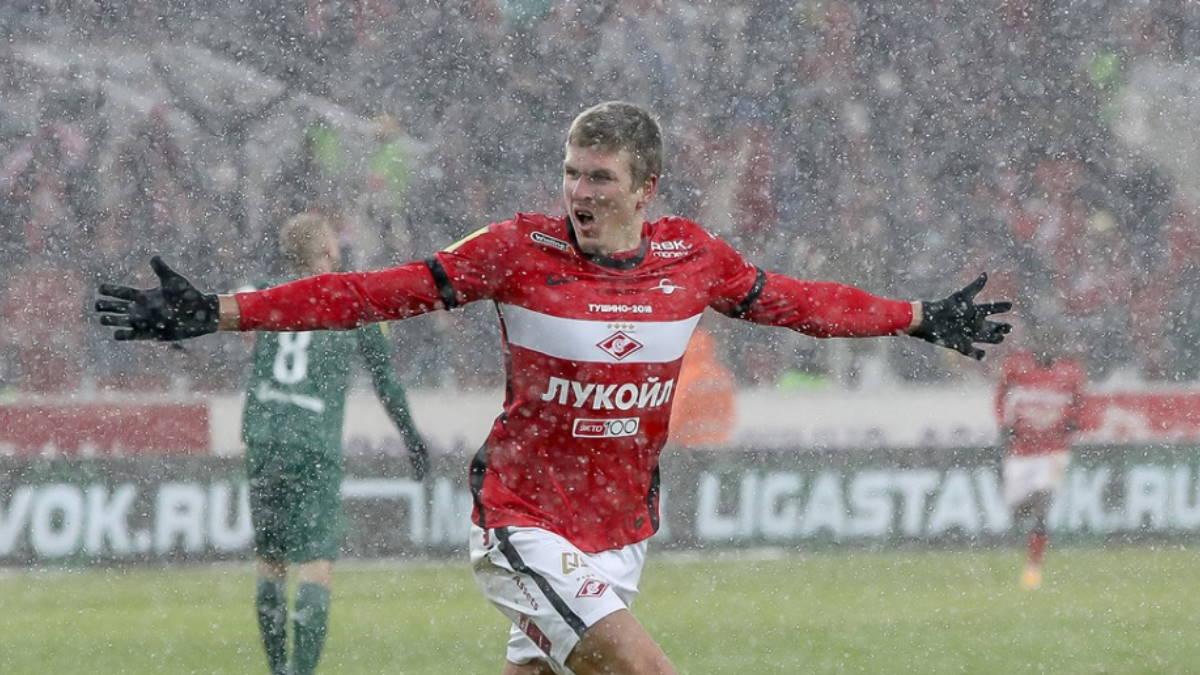 Московский Спартак - Краснодар футбол