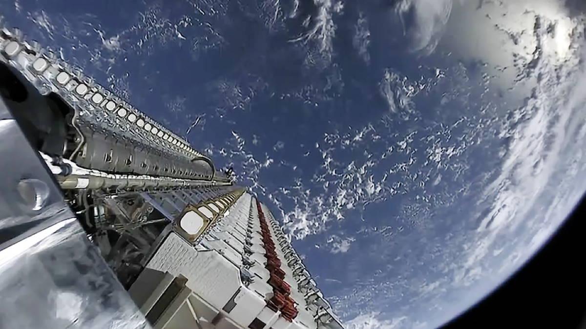 Спутники SpaceX Starlink