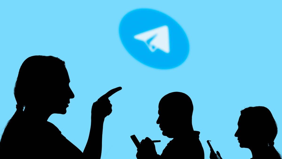Telegram логотип силуэты