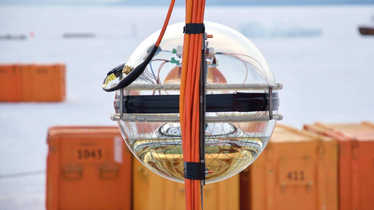 Телескоп Baikal Gigaton Volume Detector