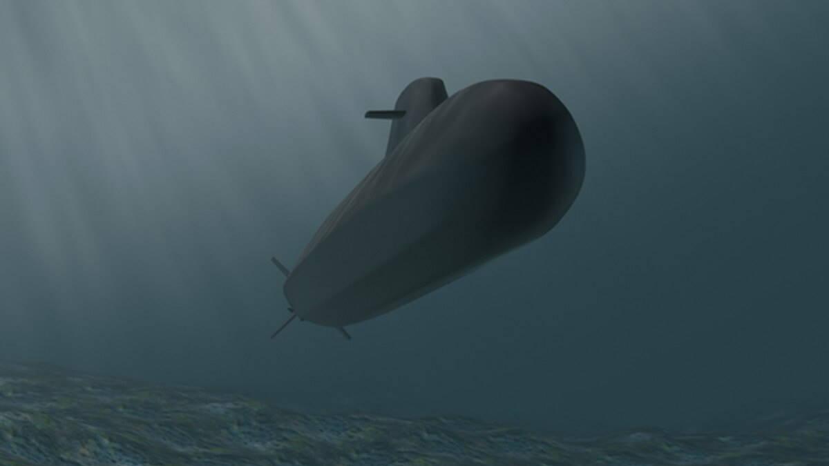 Эскиз подводной лодки U212 CD