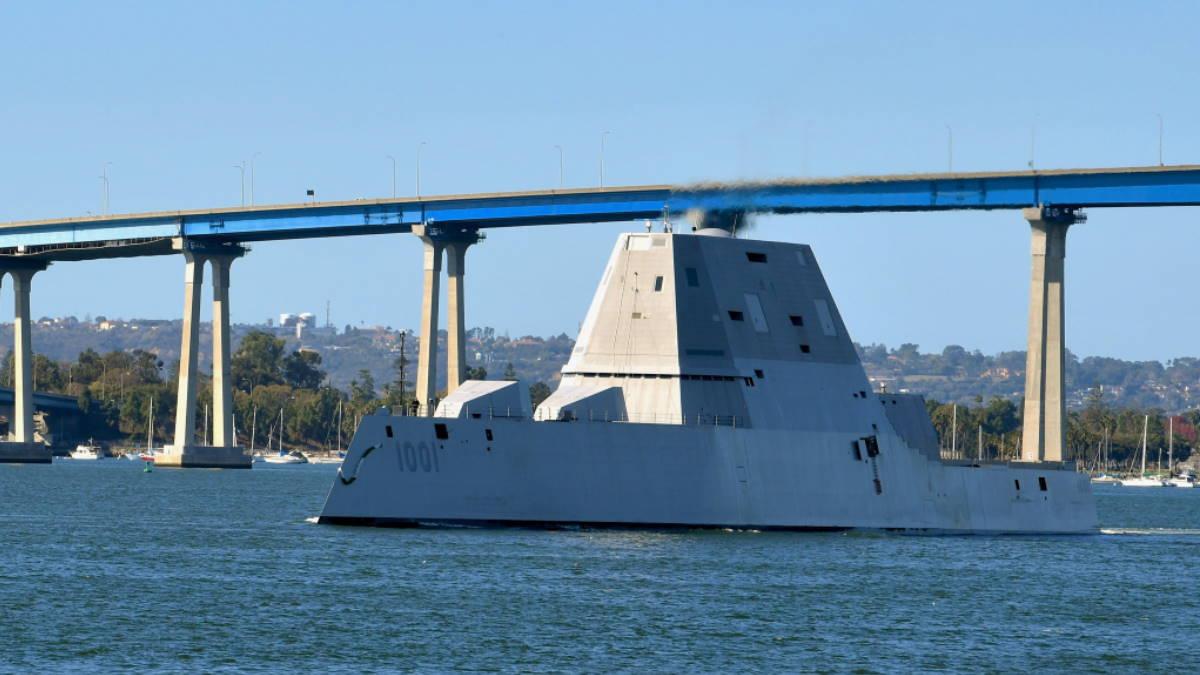 Эсминец USS Michael Monsoor DDG-1001