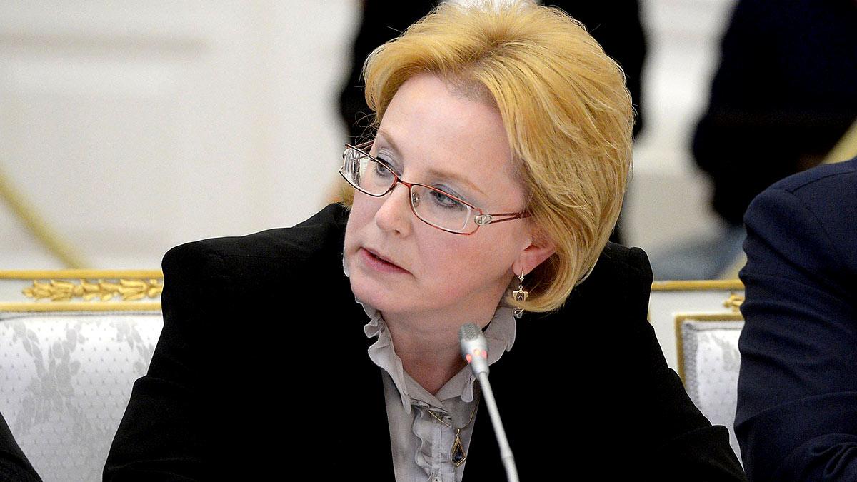 Глава Федерального медико-биологического агентства Вероника Скворцова