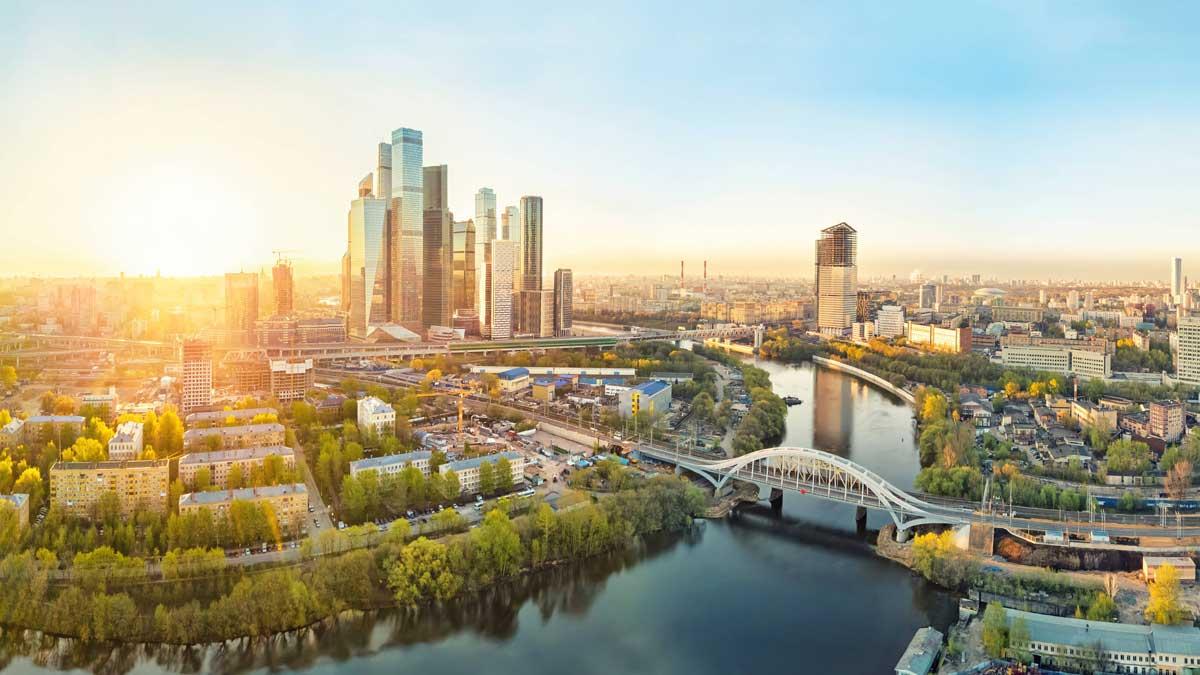 Весна город Москва