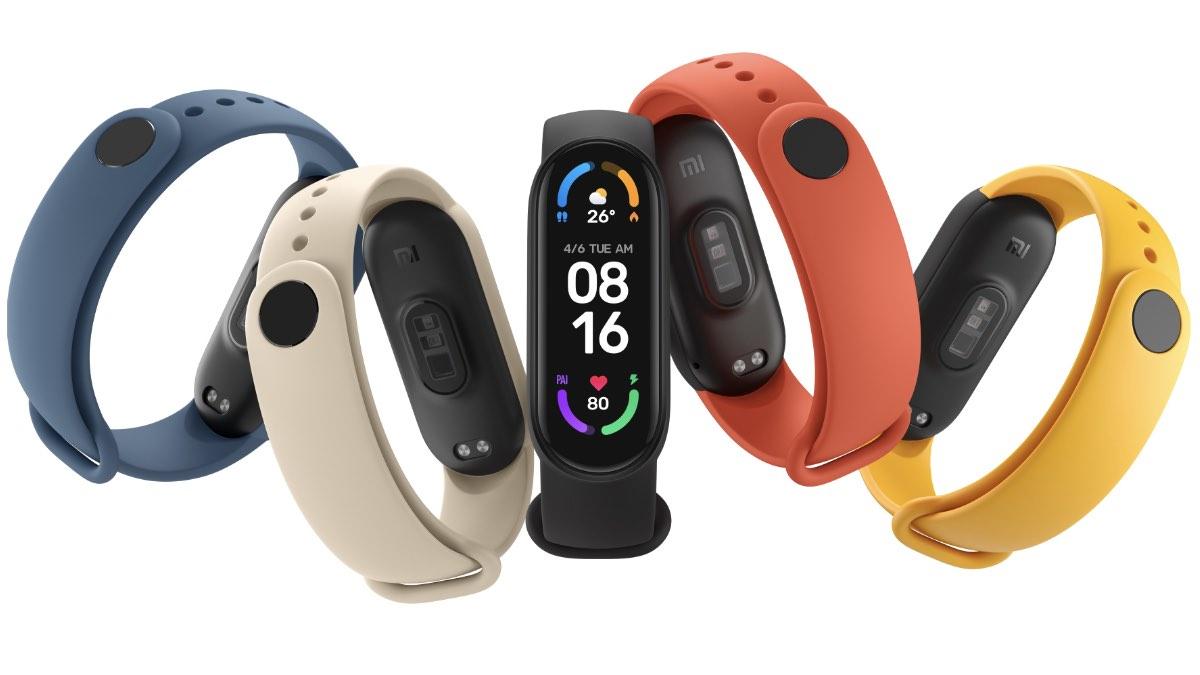 Xiaomi Mi Smart Band 6 часы нового поколения