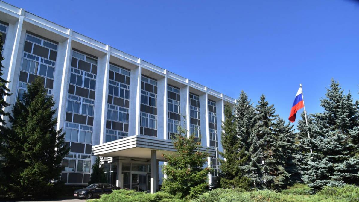 Здание посольства РФ в Софии