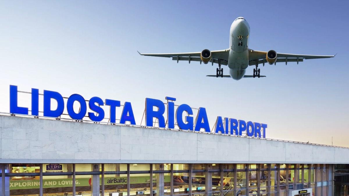 Аэропорт города Рига, Латвия