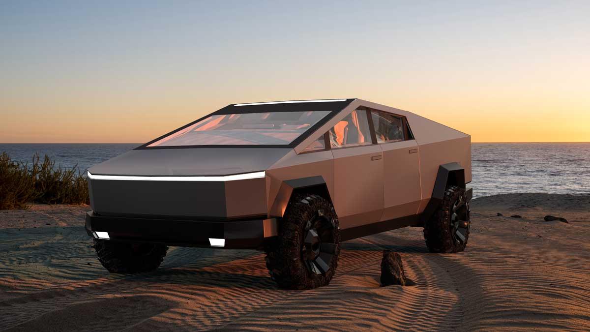 автомобили Tesla Cybertruck