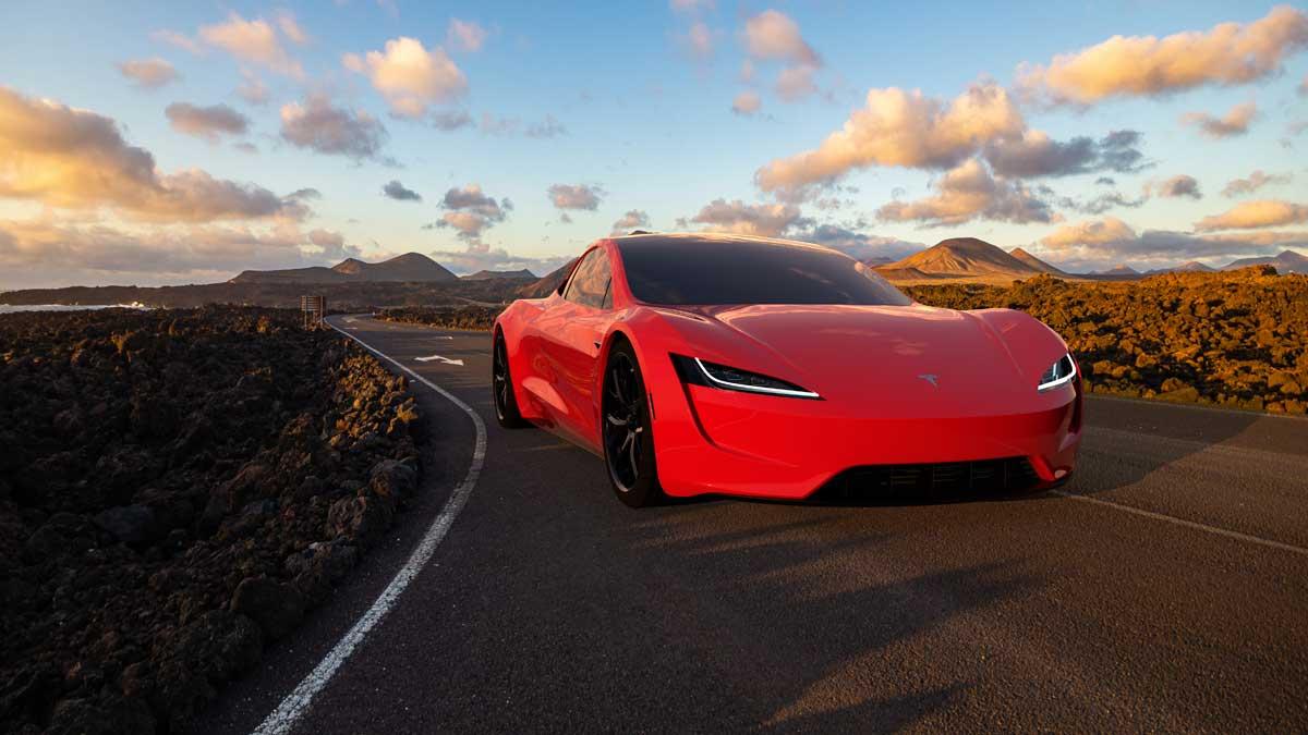 автомобили Tesla Roadster